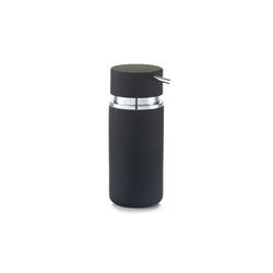 HTI-Living Seifenspender Seifenspender Rubber, (1-tlg) schwarz