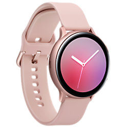 Samsung Sportuhr mit SIM Galaxy Watch Active2 LTE 44 mm Pink, Gold