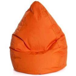 Sitzkissen in Orange Waschbar