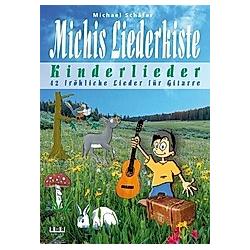 Michis Liederkiste: Kinderlieder für Gitarre. Michael Schäfer  - Buch