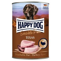 (5,75 EUR/kg) Happy Dog Truthahn Pur 400 g - 12 Stück