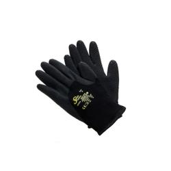 SolidSafety Winter Dots Schutzhandschuh, Arbeitshandschuh, 1 Packung = 10 Paar, 8