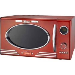 MELISSA Mikrowelle 16330088 rot im Retro Design mit Grill