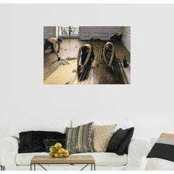 Posterlounge Wandbild, Die Parkettschleifer 90 cm x 60 cm