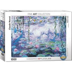 empireposter Puzzle Claude Monet - Seerosen - 1000 Teile Puzzle Format 68x48 cm., 1000 Puzzleteile