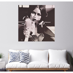 Posterlounge Wandbild, Dolly mit Eiskaffee 13 cm x 13 cm