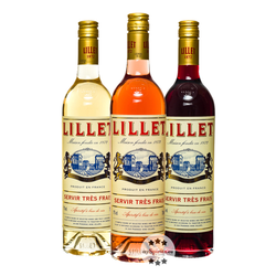 Lillet 3er Set - Blanc, Rose & Rouge