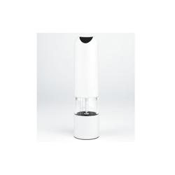 Justinus Pfeffer-/Salzmühle in weiß, 21 cm