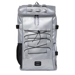 Rains Rucksack RAINS LTD Mountaineer Bag Rucksack verlässlicher Tages-Rucksack mit Laptopfach Freizeit-Ausrüstung 20L Silber