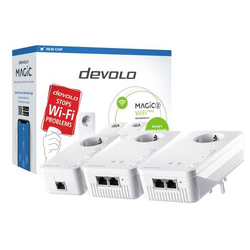 Devolo Powerline WLAN Einzel Adapter 2.4 GBit/s