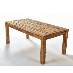 GMD Living Esstisch RECY (Teakholztisch), Jeder Tisch ist ein Unikat!