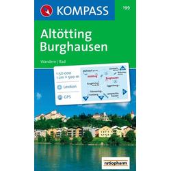 Altötting-Burghausen 1 : 50 000