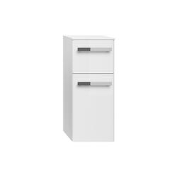 Pelipal Highboard Fokus 4030 in weiß Hochglanz