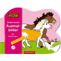 Mein kleiner Ponyhof: Erste bunte Ausmalbilder als Buch von