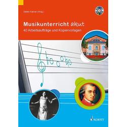 Musikunterricht akut als Buch von