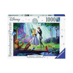 Ravensburger Puzzle Puzzle 1000 Teile, 70x50 cm, Dornröschen, Puzzleteile