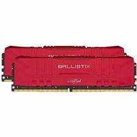 Crucial Ballistix 32GB Kit DDR4 2x16GB 2666 CL16 DIMM 288pin red