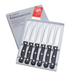 RÖR Tafelmesser Jausenmesser Tafelmesser Brotzeitmesser (6 Stück)