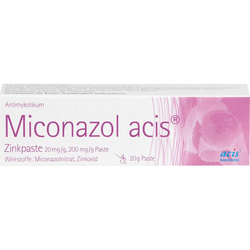 MICONAZOL acis Zinkpaste 20 g