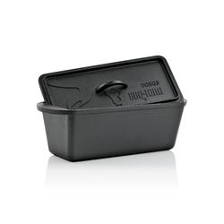 BBQ-Toro Feuertopf BBQ-Toro Dutch Oven Backtopf, 3,0 Liter, Gusseisen Kochtopf, Gusstopf