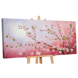 YS-Art Gemälde Kirschblüte 180