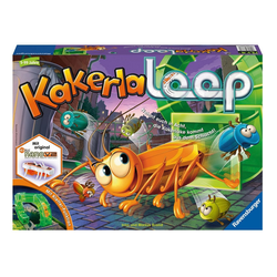 Ravensburger Spiel, Kakerlaloop, Made in Europe