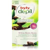 Byly Depil Chocolate Wachsstreifen Body 12 St.
