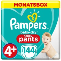 Pampers Baby-Dry Pants 9-15 kg 144 St.