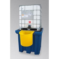 LaCont Abfüllbehälter aus PE gelb zum Auffangen von Tropfverlusten P70-7132-A