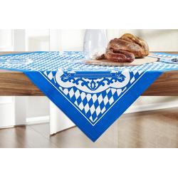 Basispreis* Tischdecke  Bayern ¦ blau ¦ 100% Polyester