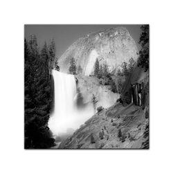 Bilderdepot24 Leinwandbild, Leinwandbild - Wasserfall III 40 cm x 40 cm