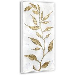 YS-Art Gemälde Goldener Zweig MJ016
