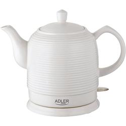 Adler Wasserkocher AD1280 Keramik Wasserkocher Retro Design, 1500 W