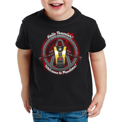 style3 Print-Shirt Kinder T-Shirt CL4P-TP robot pandora claptrap ego shooter 140
