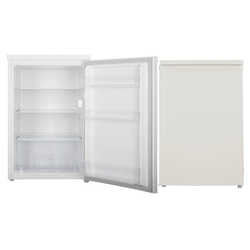 PKM Kühlschrank KS 135.0A++T3, 84.5 cm hoch, 56 cm breit, Vollraumkühlschrank Standkühlschrank E 133 L weiß