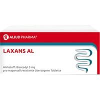 LAXANS AL magensaftresistente überzogene Tabletten 10 St