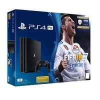 Sony PS4 Pro 1TB + FIFA 18 (Bundle)