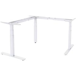 Digitus Sitz-/Steh-Schreibtischgestell DA-90386 DA-90386 (B x H x T) 700 x 1400 x 600mm Weiß