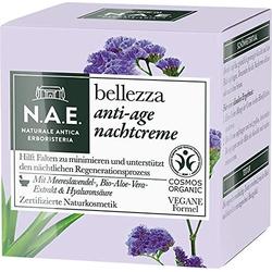 N.A.E. Bellezza Anti Age Nachtcreme Vegane Formel Naturkosmetik 50ml