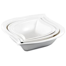 MALACASA Suppenschale ELVIRA, Porzellan, (Set, 3-tlg., 3 Größe), Porzellan Suppenschale