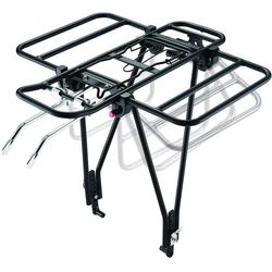 Point Fahrrad-Gepäckträger, mit Klappfunktion, speziell für Räder mit Scheibenbremse hinten