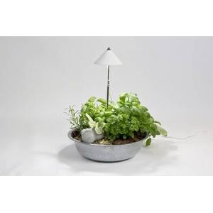 Venso E504 110 SUNLiTE LED-Pflanzenlampe 24V LED fest eingebaut 7W Neutral-Weiß Weiß