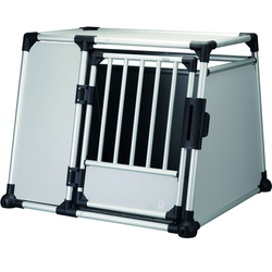 Trixie Hundebox Alubox Autobox für Hunde, L?XL: Breite 94 × Höhe 75 × Tiefe 88 cm