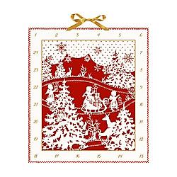 Weihnachtlicher Scherenschnitt