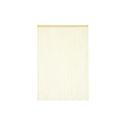 Fadenvorhang Fadenvorhang beige, relaxdays 145 cm x 245 cm