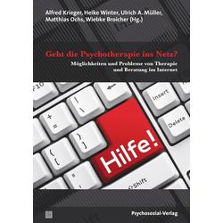 Geht die Psychotherapie ins Netz?: eBook von