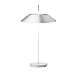 Mayfair Tischleuchte - Stahl / Weiß