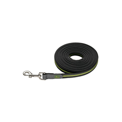Hunter Schleppleine Suchleine Visby Super Grip, Nylon gelb L - 2 cm x 10 m