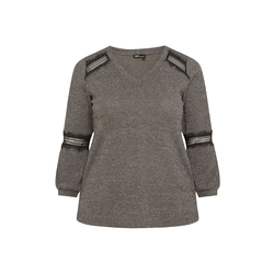 Pullover PULLOVER MIT SPITZE SPGWOMAN grey