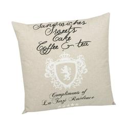GO-DE Dekokissen High Tea, (L/B): ca. 50x50 cm